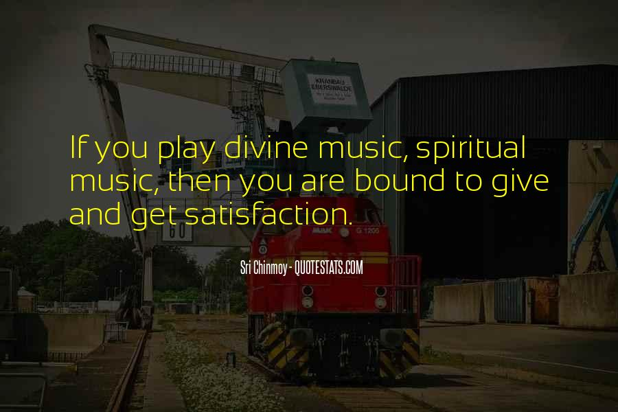 Quotes About Divine Music #255303