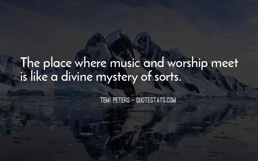 Quotes About Divine Music #580986
