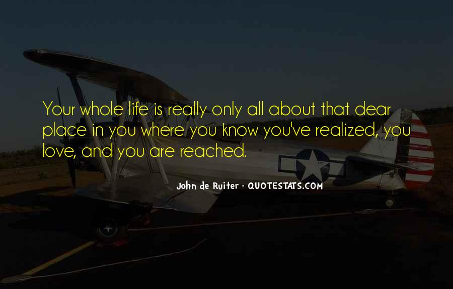Life Is All About Quotes #86333