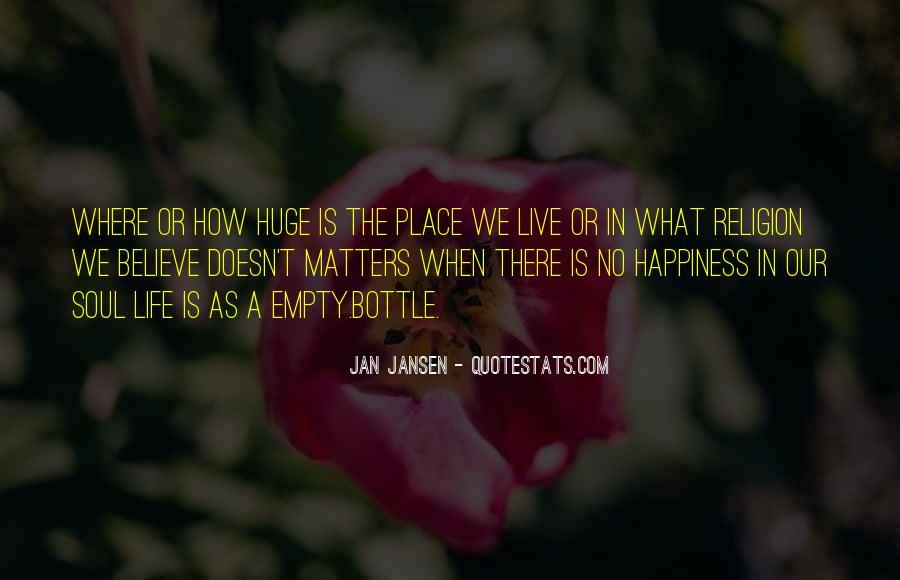 Life Is Empty Quotes #171340