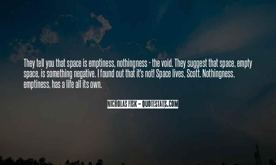 Life Is Empty Quotes #30127