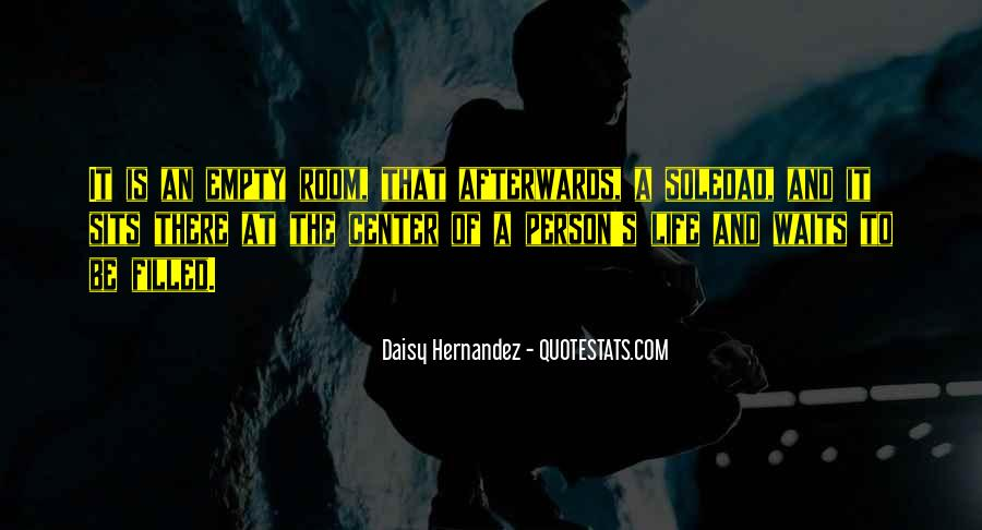 Life Is Empty Quotes #322520
