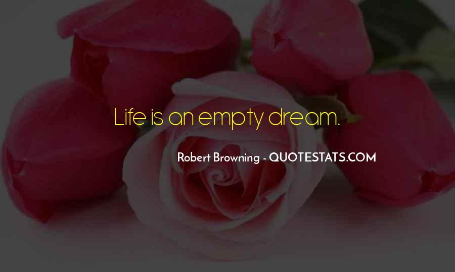 Life Is Empty Quotes #349390