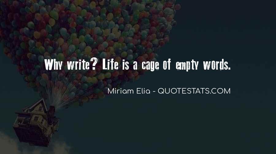 Life Is Empty Quotes #353371