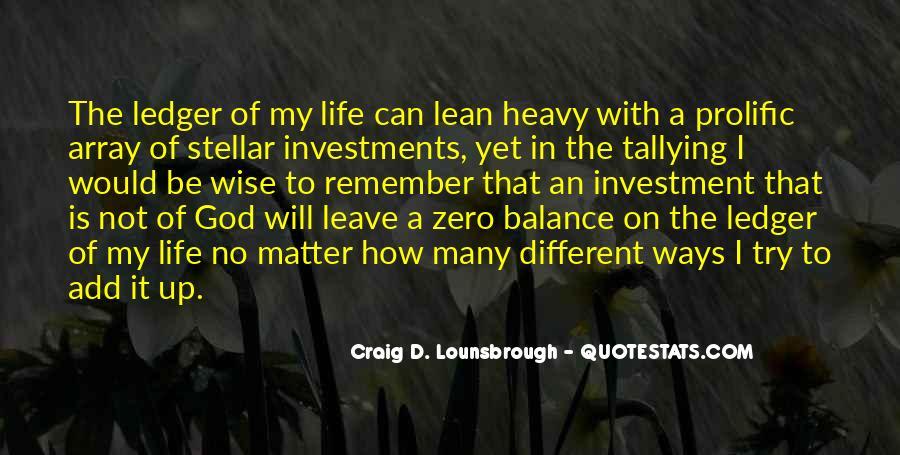 Life Is Empty Quotes #367278
