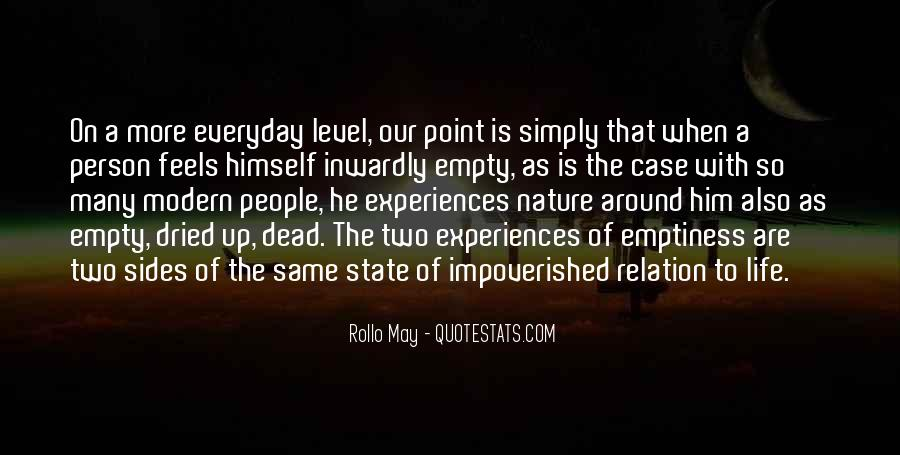 Life Is Empty Quotes #37371