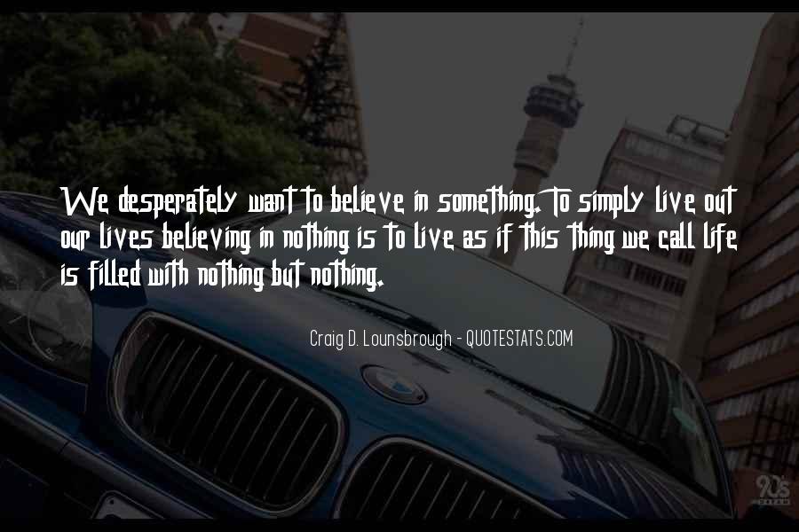 Life Is Empty Quotes #51739