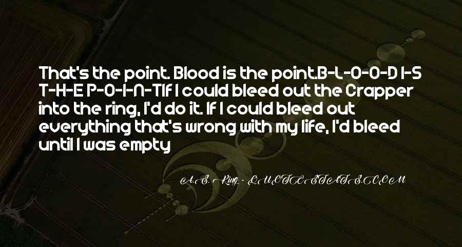 Life Is Empty Quotes #528819