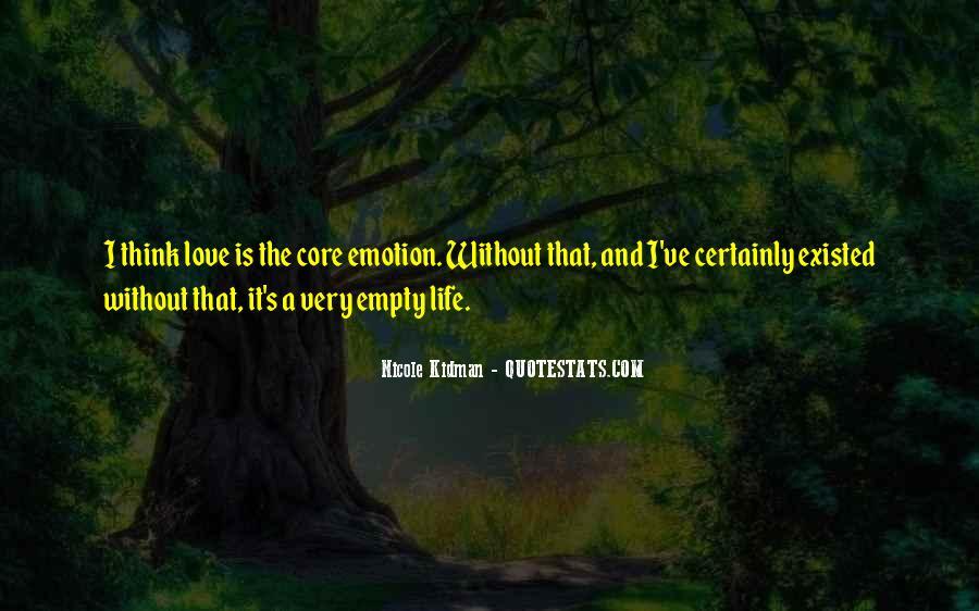 Life Is Empty Quotes #61346