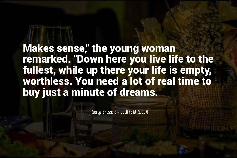 Life Is Empty Quotes #767529