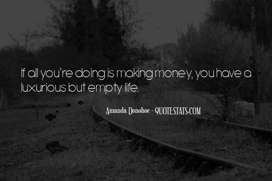 Life Is Empty Quotes #776041