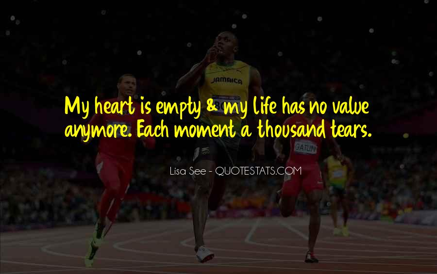 Life Is Empty Quotes #786838