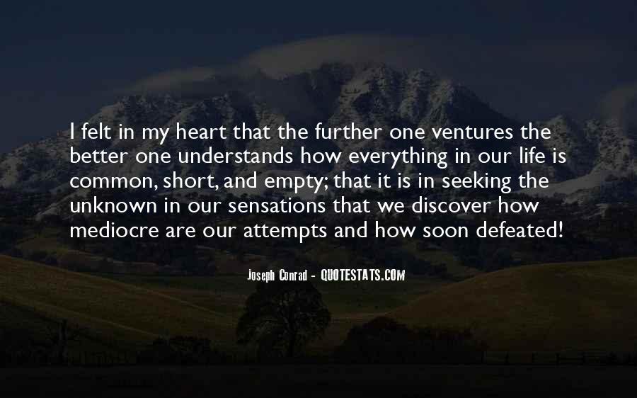 Life Is Empty Quotes #813681