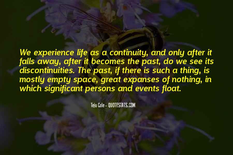 Life Is Empty Quotes #858926