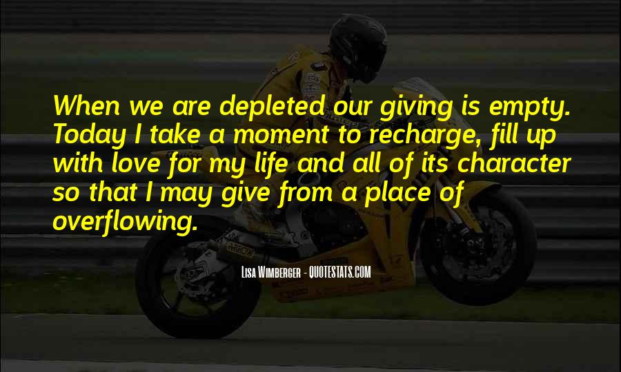 Life Is Empty Quotes #869224