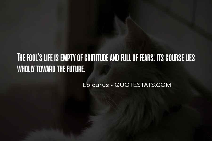 Life Is Empty Quotes #872779
