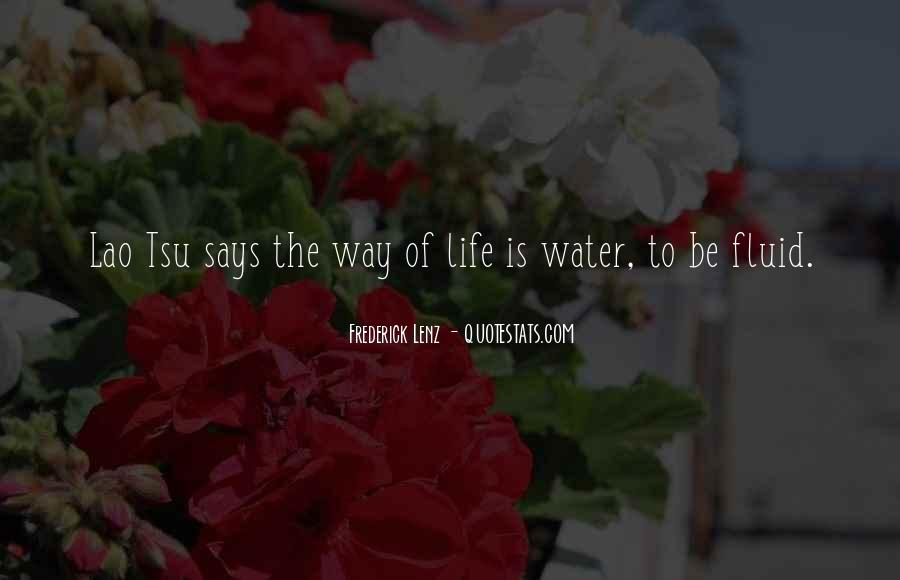 Life Is Fluid Quotes #45104