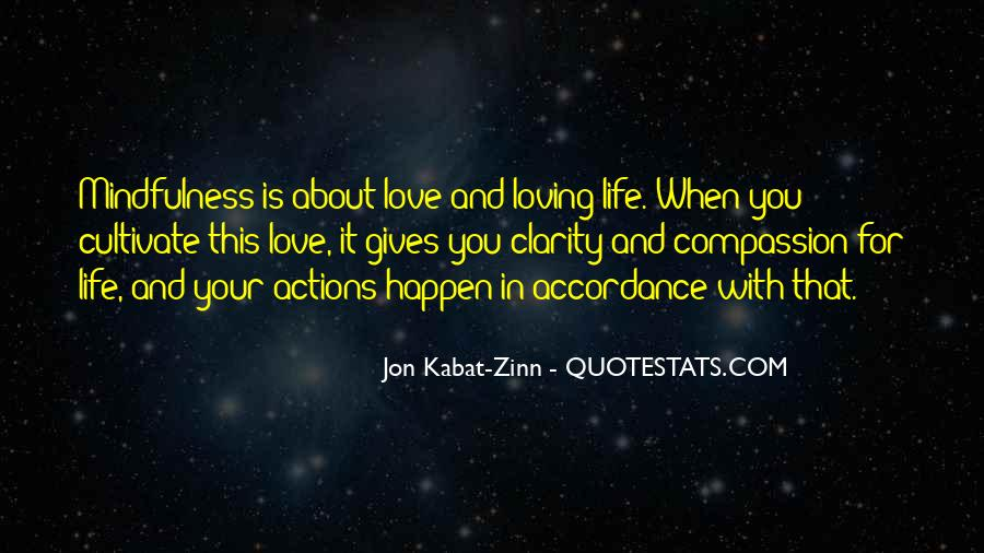 Life Is For Loving Quotes #1551783