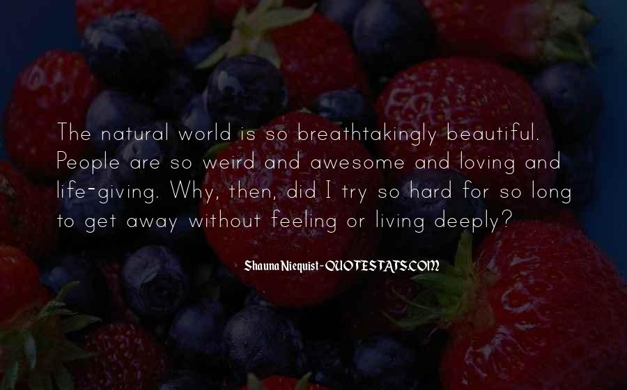 Life Is Hard But Beautiful Quotes #1495330