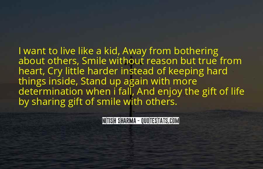 Life Is Hard But Smile Quotes #1436213