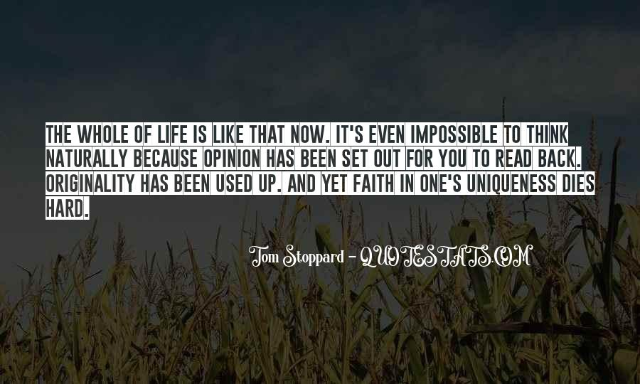 Life Is Impossible Without You Quotes #149472