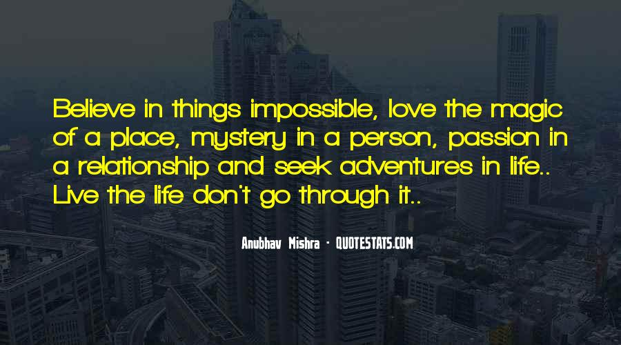 Life Is Impossible Without You Quotes #179393
