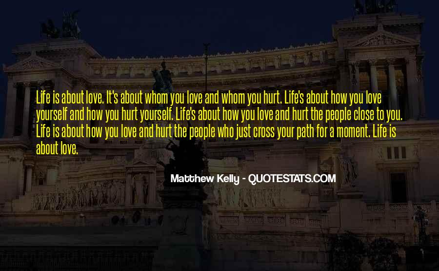 Life Is Just A Moment Quotes #1774711