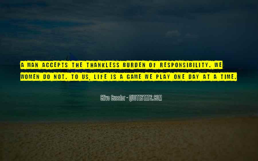 Life Is Not Game Quotes #191229