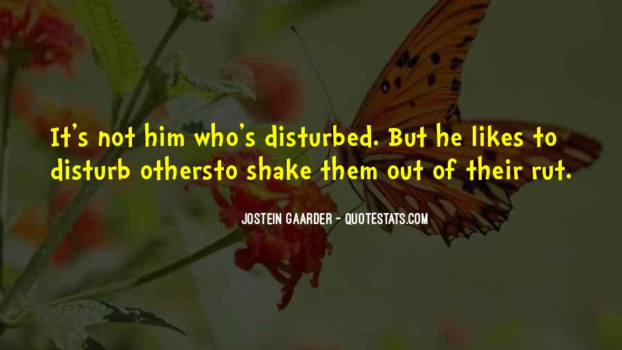 Quotes About Disturbed #142174