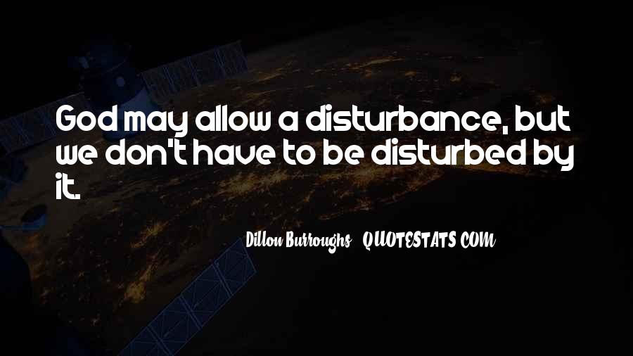 Quotes About Disturbed #200695
