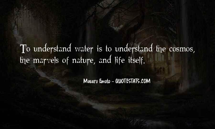 Life Is Water Quotes #141747