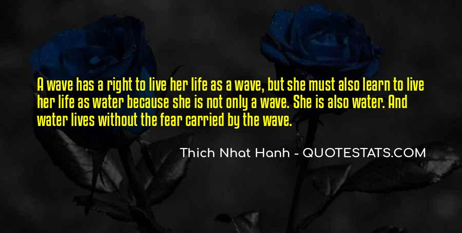Life Is Water Quotes #269124
