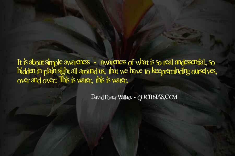 Life Is Water Quotes #303644