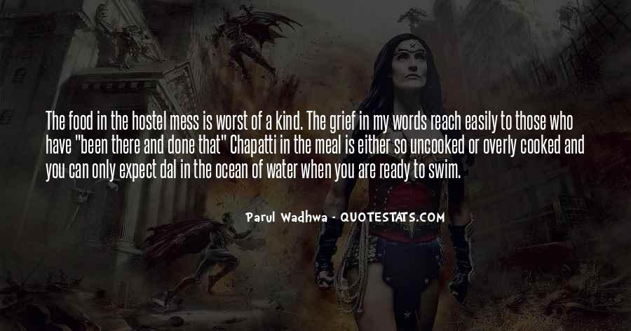 Life Is Water Quotes #324445