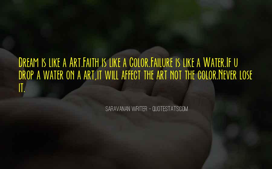 Life Is Water Quotes #435664