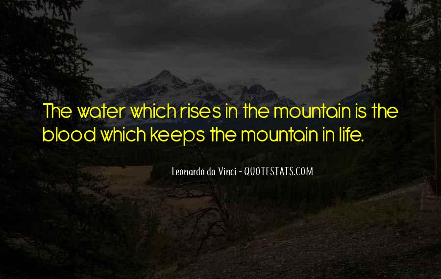Life Is Water Quotes #488366