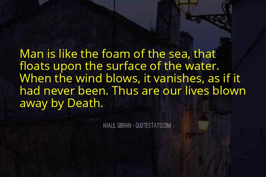 Life Is Water Quotes #502220