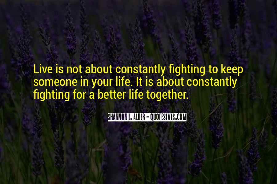 Life Lasting Love Quotes #1465181