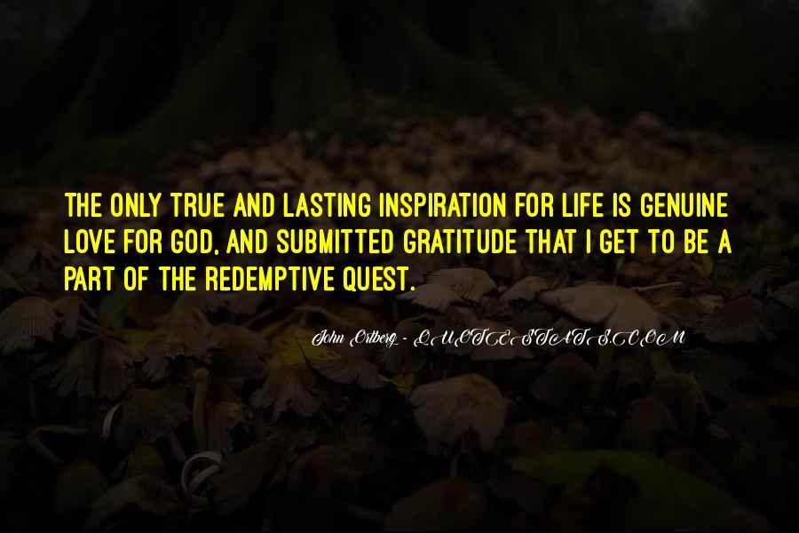 Life Lasting Love Quotes #1762043