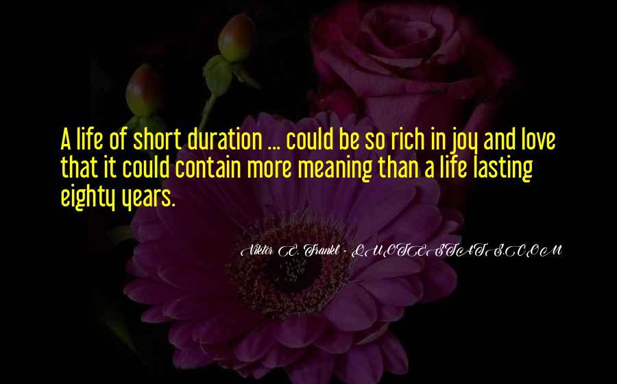 Life Lasting Love Quotes #435941