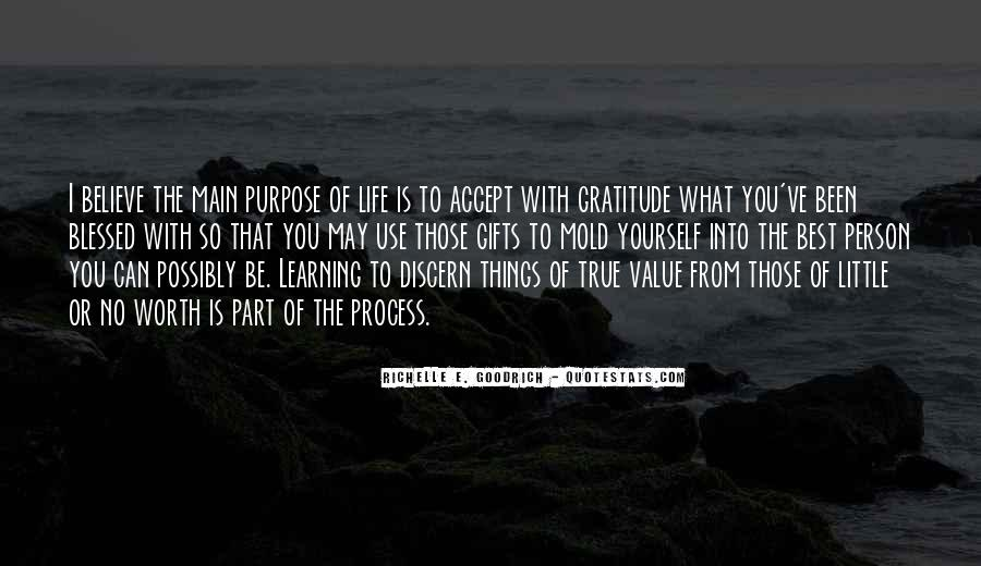 Life Learning Process Quotes #1822671