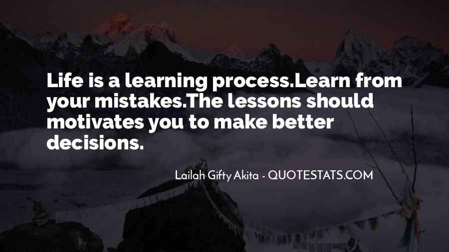 Life Learning Process Quotes #645607
