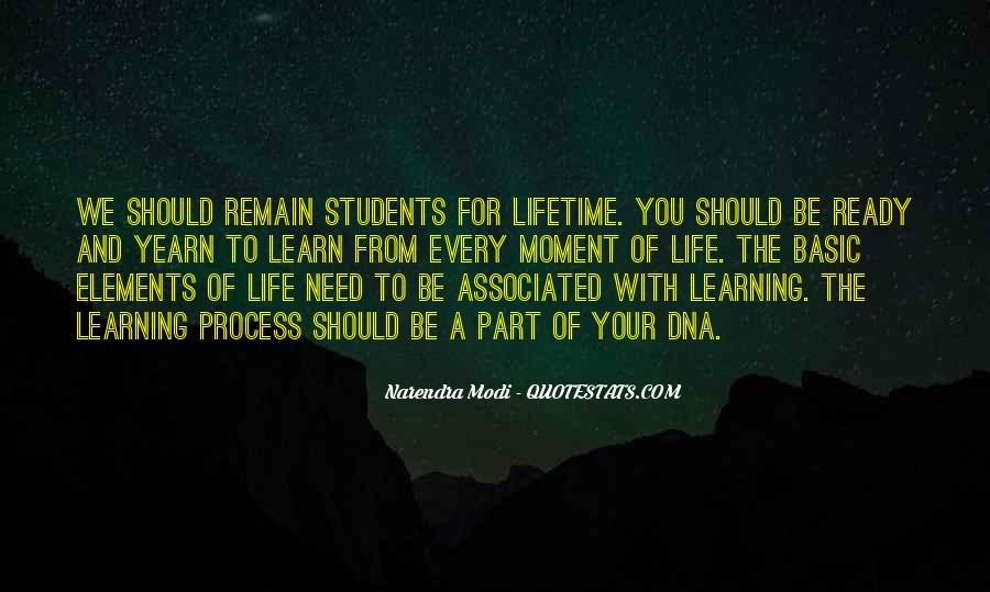 Life Learning Process Quotes #902882