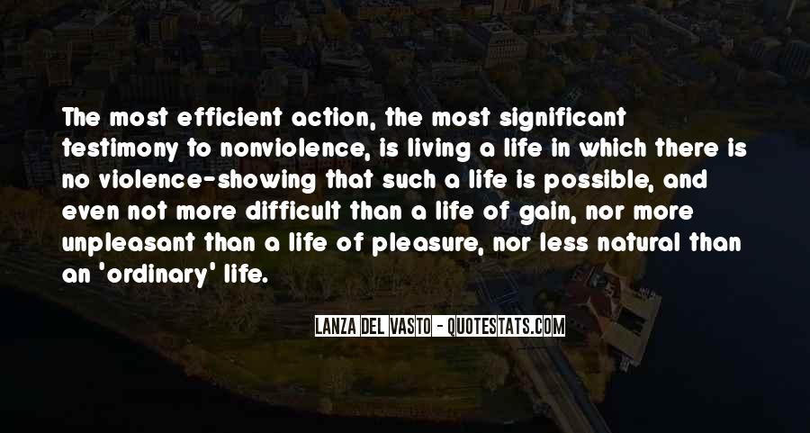 Life Less Ordinary Quotes #1268064
