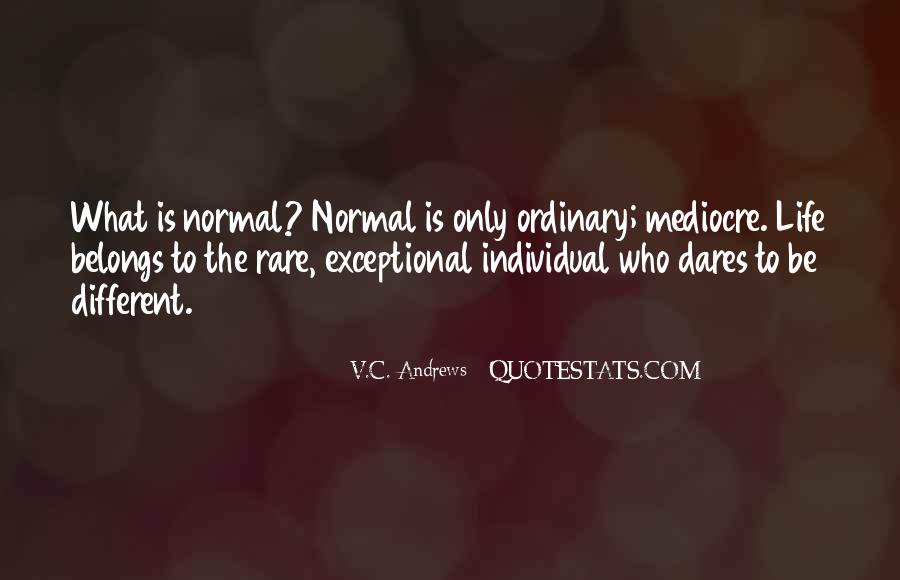 Life Less Ordinary Quotes #2756