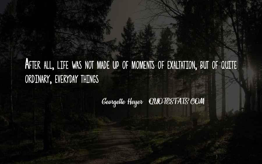 Life Less Ordinary Quotes #48510
