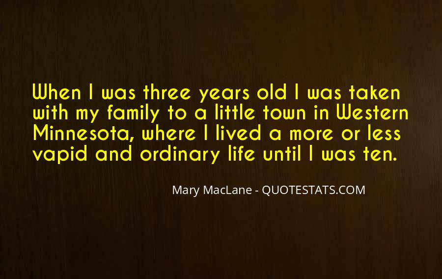 Life Less Ordinary Quotes #602483