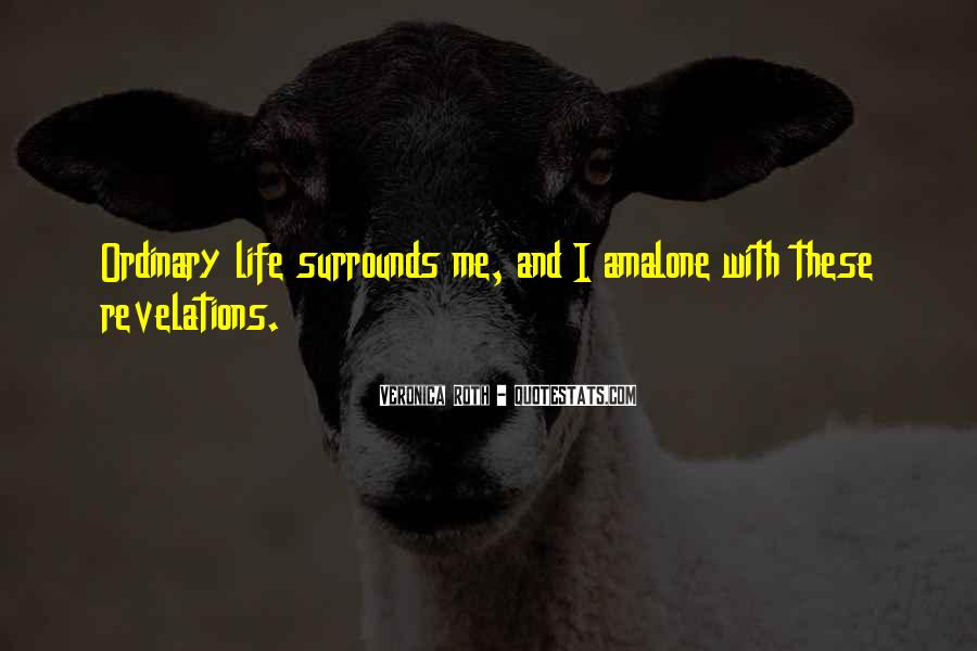 Life Less Ordinary Quotes #82823