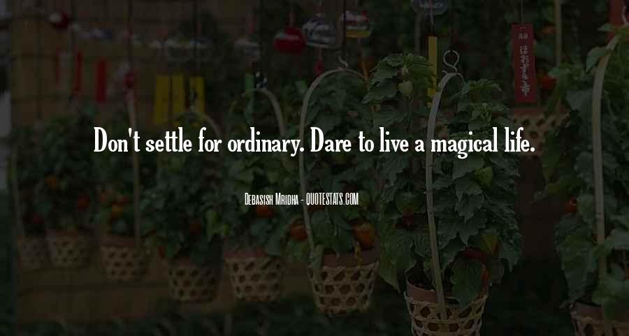 Life Less Ordinary Quotes #87810