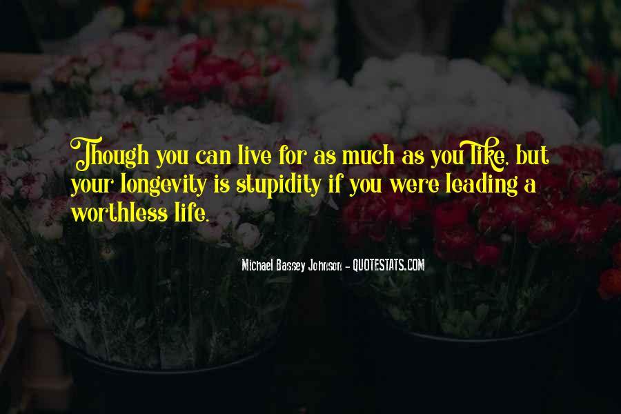 Life Making Sense Quotes #1191369